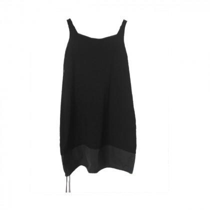 Paul Ka summer black dress