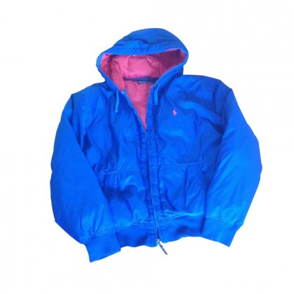 Polo Ralph Lauren light blue down jacket