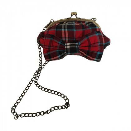 Pepe jeans Clutch bag with shoulder chain