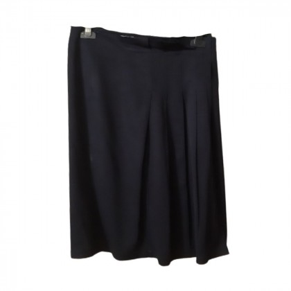 Prada navy color pleated skirt size IT40