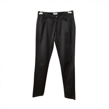 Prada narrow fit  blue/black pants size IT38