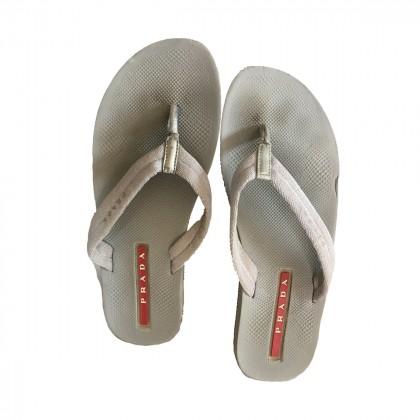 PRADA flip flops size IT38