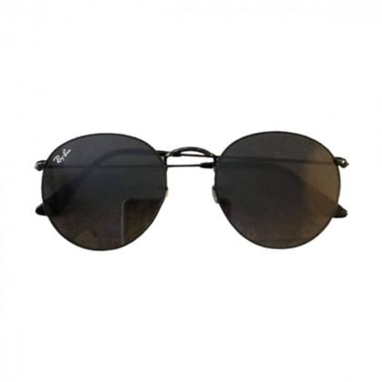 Ray Ban oval metal sunglasses