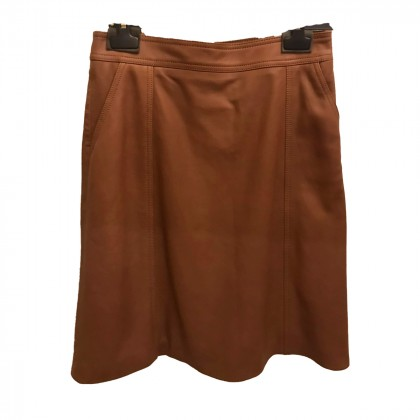 Hugo Boss leather skirt IT44 or INT M