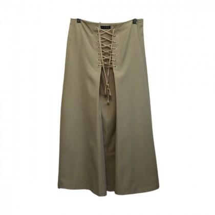 Soya Beige Midi skirt size L