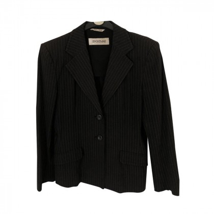 Sportmax Black stripped Suit