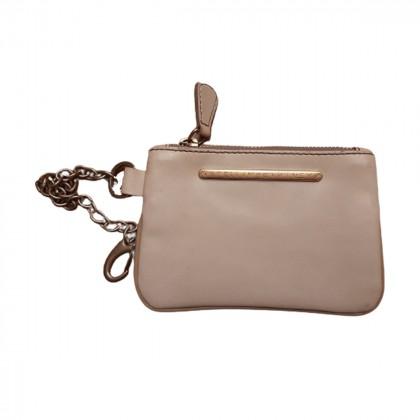 Stella Mc Cartney beige clutch bag