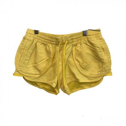 Adidas Stella McCartney yellow shorts size XS