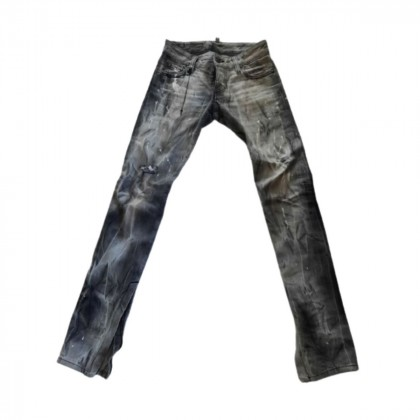 DSQUARED2 stone washed distressed jeans size IT 36