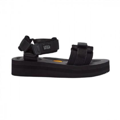 SUICOKE CEL-V Velcro-strap flatform sandals size EU40