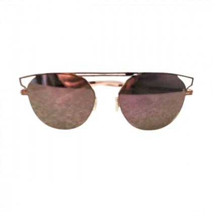 Vedi by Vedi Vero handmade lightweight gold sunglasses