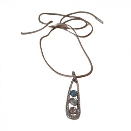Swarovski cord necklace