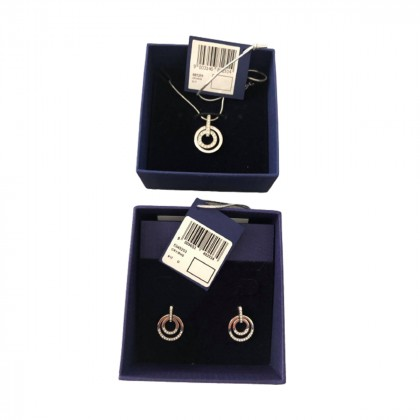 Swarovski set of necklace and matching earrings
