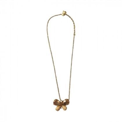 Swarovski gold plated butterfly pendant -brand new