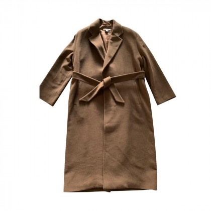 Gant long tan coat size M