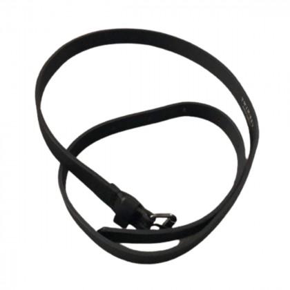 Twinset black leather belt size XS