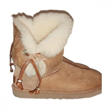 UGG suede fur boots size 37/US 6