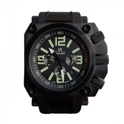 UK unisex water-resistant chronograph watch