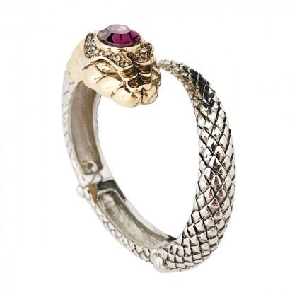 Roberto Cavalli snake bracelet