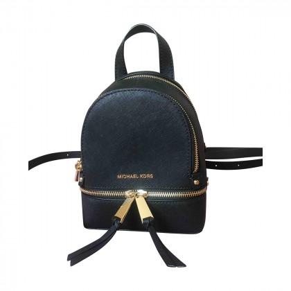 Michael Kors black backpack new