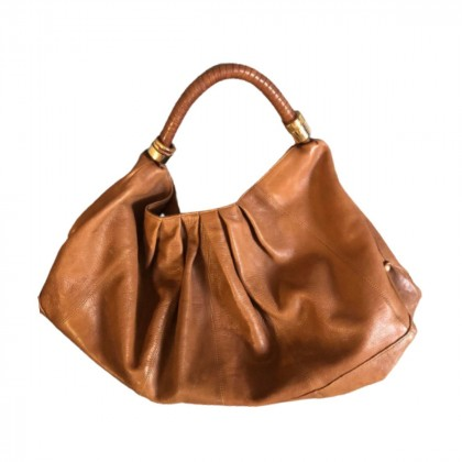 Uterque large leather bag
