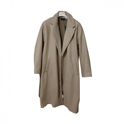 Beige mid length coat size M BRAND NEW