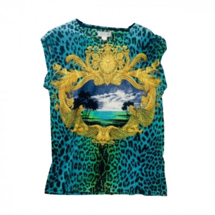 Versace for H&M collectible leopard T-shirt size M