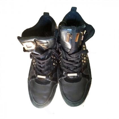 DKNY Black sneaker booties sizeUS 9.5 or EU 39,5