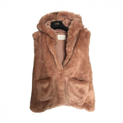 Zara faux fur vest 13-14yrs