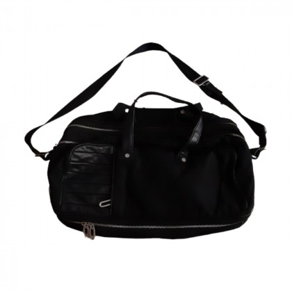 Zegna Sport black travel/office/leisure bag