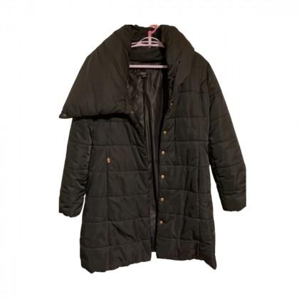 Zini black long jacket size IT40