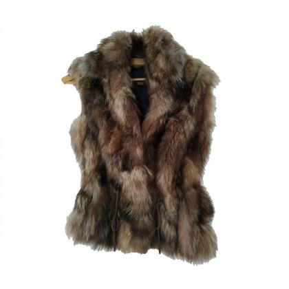 ZINI boutique real fur vest