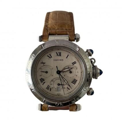 CARTIER Pasha Chronograph watch 38.5mm