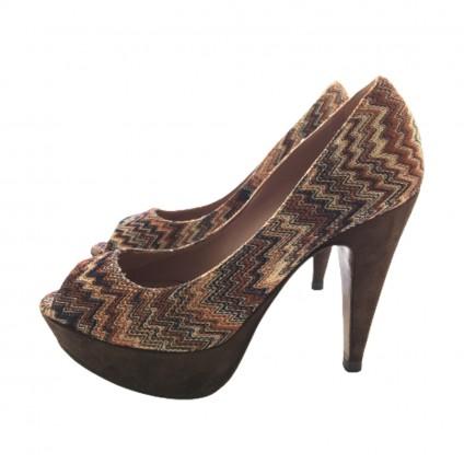 Missoni Peep Toe heels size IT35