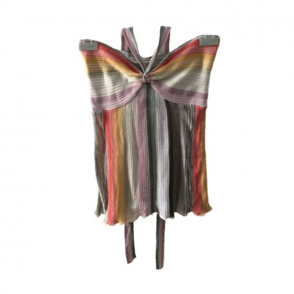 Missoni knitted multicolored top size IT40