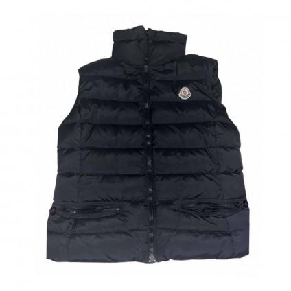 MONCLER Black down Vest size 3