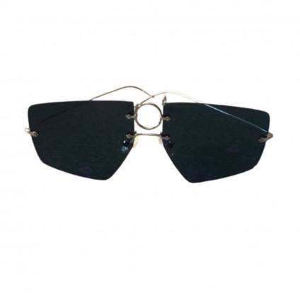 Eyepetizer grey metallic sunglasses