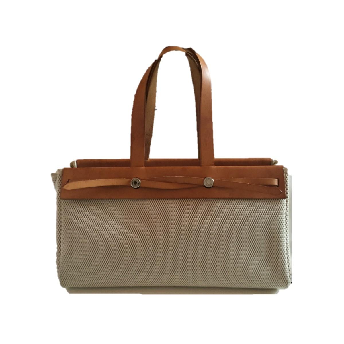 1e1728c7e59a HERMES Herbag Cabas Bag 2 in 1