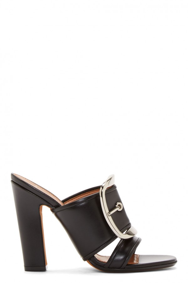 Givenchy high heeled with oversize buckle