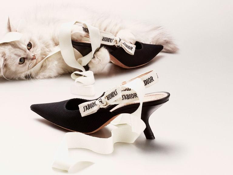kitten heels Dior